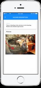 rapidInspect-Record Hazards App Preview