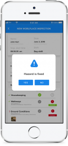 rapidInspect-Notifications App Preview