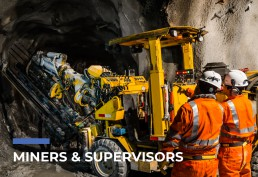rapidInspect Persona: Miners & Supervisors
